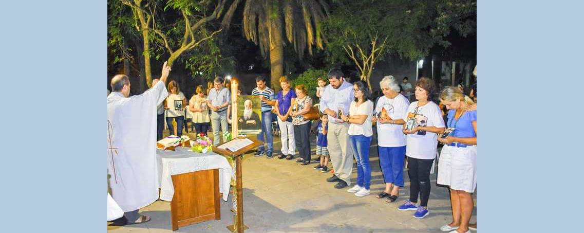 Camino a la conquista del Santuario Filial para Chaco